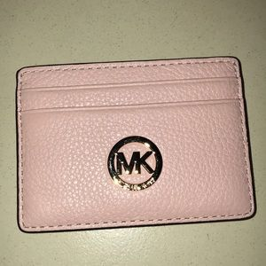 New Michael Kors credit card wallet in pink!